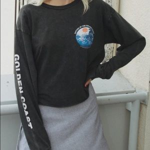 Brandy Melville golden coast long sleeve